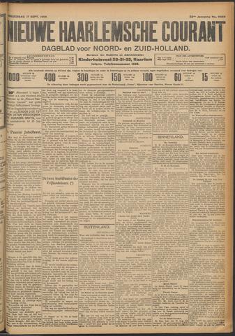 Nieuwe Haarlemsche Courant 1908-09-17