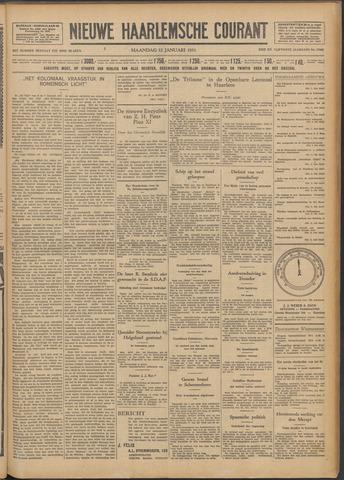 Nieuwe Haarlemsche Courant 1931-01-12
