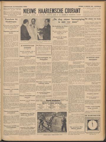 Nieuwe Haarlemsche Courant 1938-08-13
