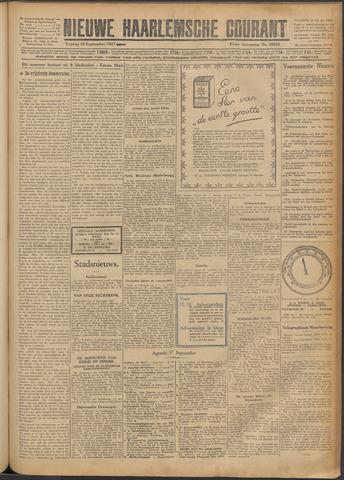 Nieuwe Haarlemsche Courant 1927-09-16