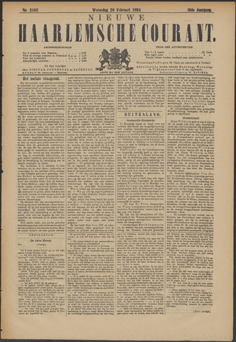 Nieuwe Haarlemsche Courant 1894-02-28
