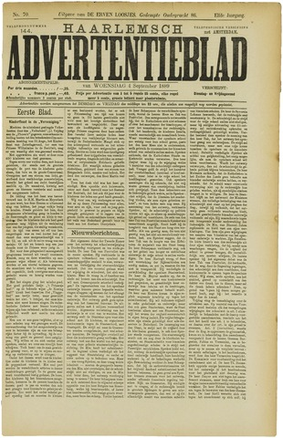 Haarlemsch Advertentieblad 1889-09-04