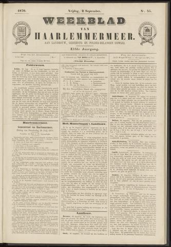 Weekblad van Haarlemmermeer 1870-09-02