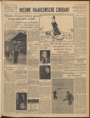 Nieuwe Haarlemsche Courant 1956-01-04