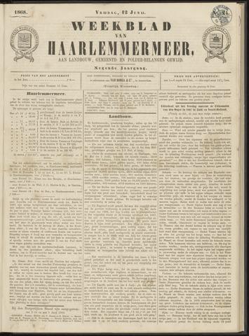Weekblad van Haarlemmermeer 1868-06-12