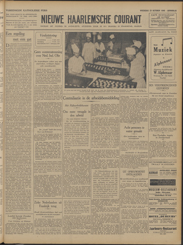 Nieuwe Haarlemsche Courant 1940-10-23
