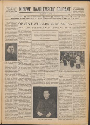 Nieuwe Haarlemsche Courant 1930-04-14