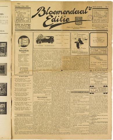 Bloemendaal's Editie 1928-09-08