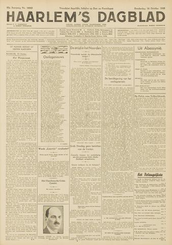 Haarlem's Dagblad 1935-10-10