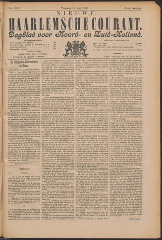Nieuwe Haarlemsche Courant 1899-04-12