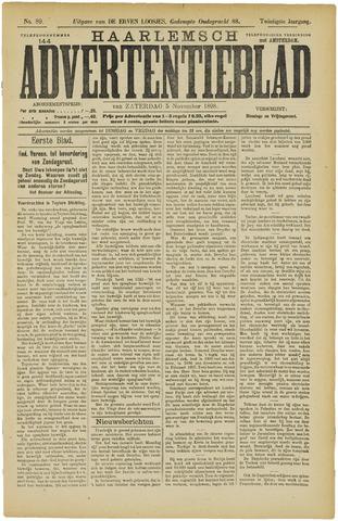 Haarlemsch Advertentieblad 1898-11-05