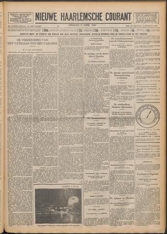 Nieuwe Haarlemsche Courant 1930-04-08