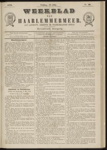 Weekblad van Haarlemmermeer 1876-07-14
