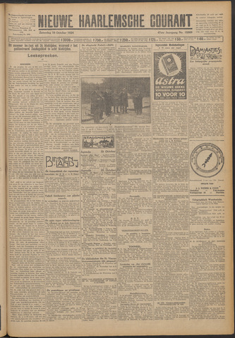 Nieuwe Haarlemsche Courant 1924-10-18