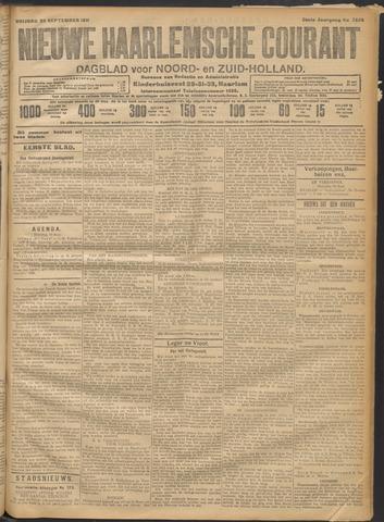 Nieuwe Haarlemsche Courant 1911-09-22