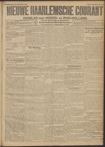 Nieuwe Haarlemsche Courant 1914-10-29