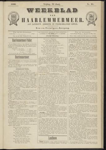Weekblad van Haarlemmermeer 1880-06-11