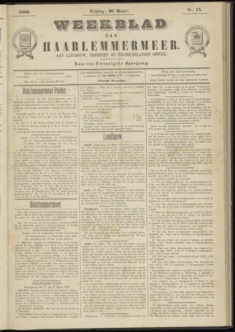 Weekblad van Haarlemmermeer 1880-03-26