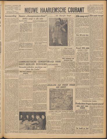 Nieuwe Haarlemsche Courant 1948-12-01