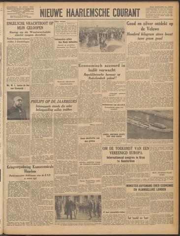 Nieuwe Haarlemsche Courant 1947-04-14