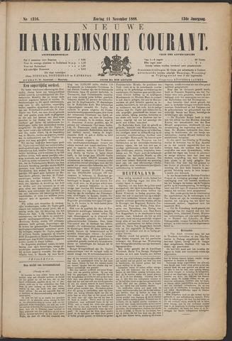 Nieuwe Haarlemsche Courant 1888-11-11