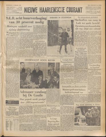 Nieuwe Haarlemsche Courant 1961-02-09