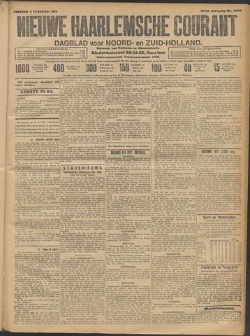 Nieuwe Haarlemsche Courant 1913-02-04