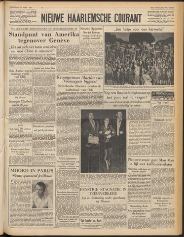 Nieuwe Haarlemsche Courant 1954-04-21