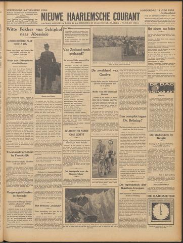 Nieuwe Haarlemsche Courant 1936-06-11