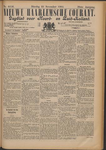 Nieuwe Haarlemsche Courant 1905-11-21