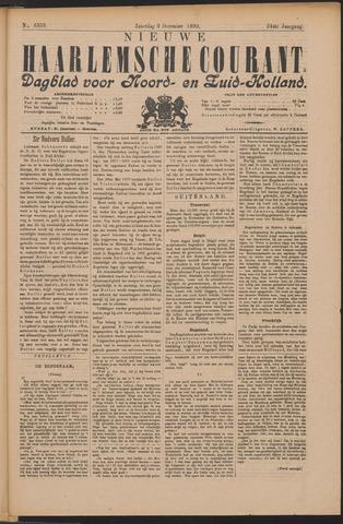 Nieuwe Haarlemsche Courant 1899-12-09