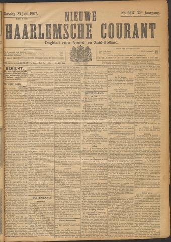 Nieuwe Haarlemsche Courant 1907-06-25