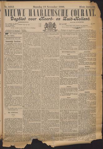 Nieuwe Haarlemsche Courant 1900-11-19
