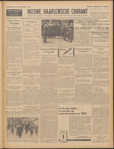 Nieuwe Haarlemsche Courant 1940-12-07
