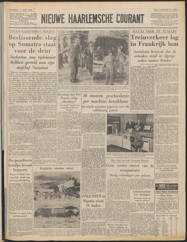 Nieuwe Haarlemsche Courant 1958-04-02