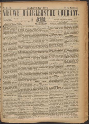 Nieuwe Haarlemsche Courant 1896-03-22