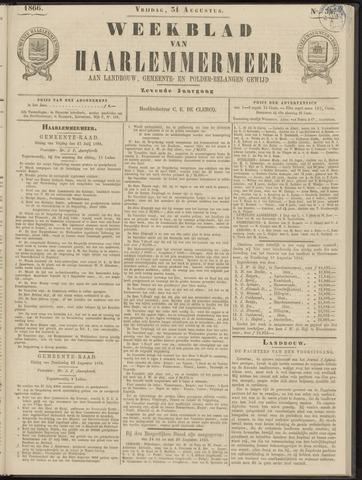 Weekblad van Haarlemmermeer 1866-08-31