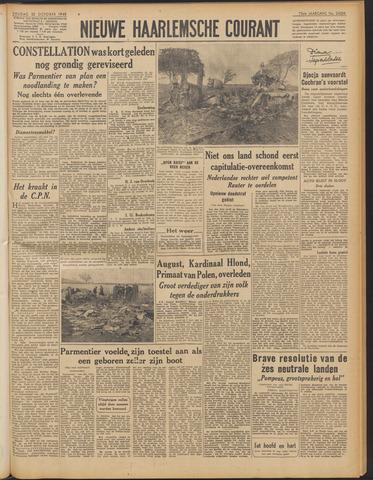 Nieuwe Haarlemsche Courant 1948-10-22