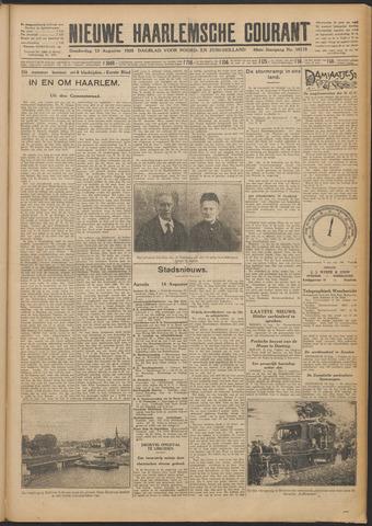 Nieuwe Haarlemsche Courant 1925-08-13