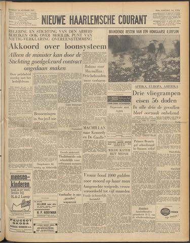 Nieuwe Haarlemsche Courant 1962-11-24