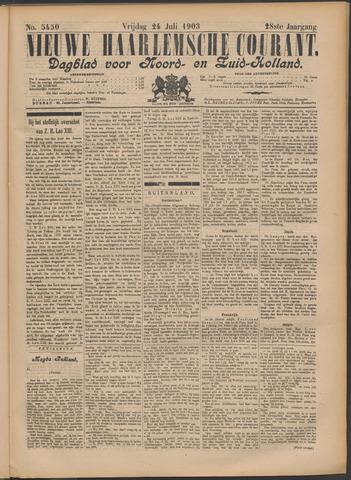 Nieuwe Haarlemsche Courant 1903-07-24