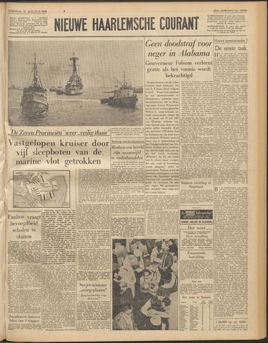 Nieuwe Haarlemsche Courant 1958-08-27