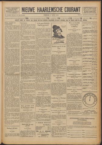 Nieuwe Haarlemsche Courant 1931-07-17