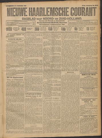 Nieuwe Haarlemsche Courant 1913-02-27