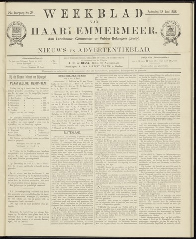 Weekblad van Haarlemmermeer 1886-06-12