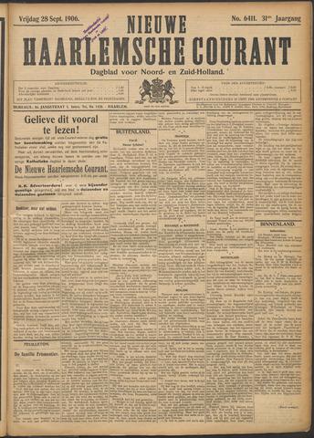 Nieuwe Haarlemsche Courant 1906-09-28