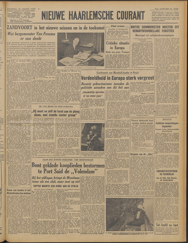 Nieuwe Haarlemsche Courant 1948-03-16