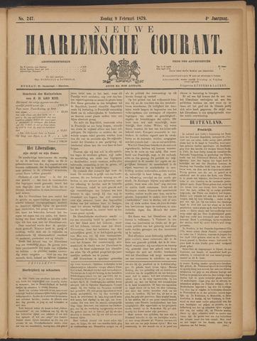 Nieuwe Haarlemsche Courant 1879-02-09