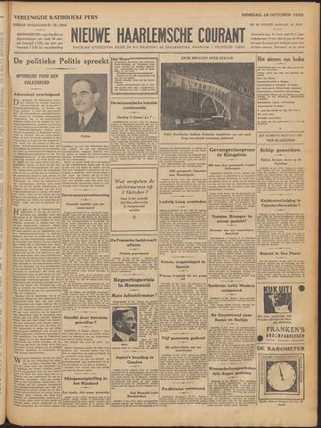 Nieuwe Haarlemsche Courant 1932-10-18