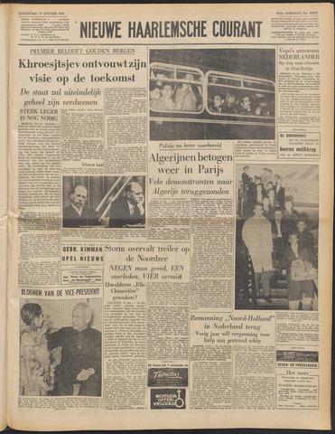 Nieuwe Haarlemsche Courant 1961-10-19